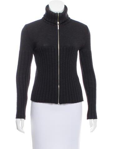 Moschino Wool Turtleneck Sweater None