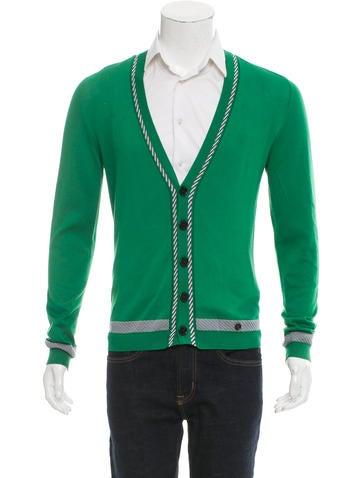 Moschino V-Neck Knit Cardigan None