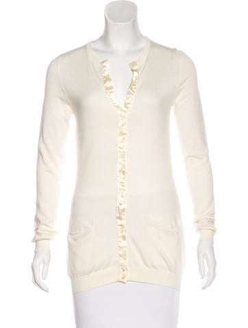 Moschino Silk Knit Cardigan None