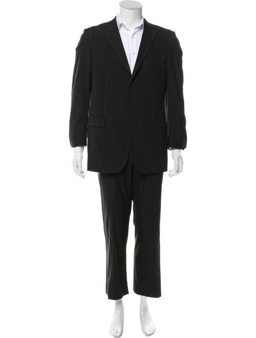 Moschino Woven Two-Piece Suit black