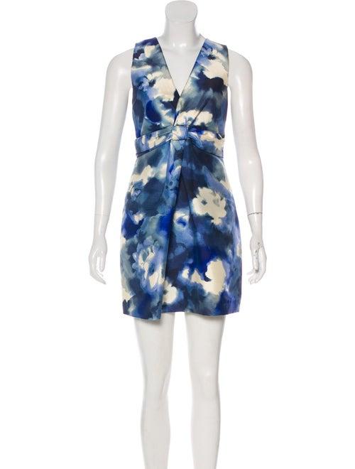 Moschino Tie-Dye Mini Dress Blue