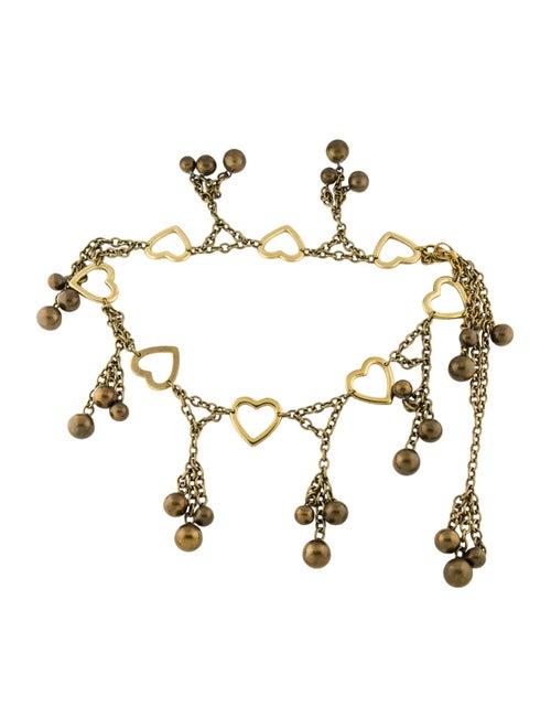 Moschino Chain Link Waist Belt Gold