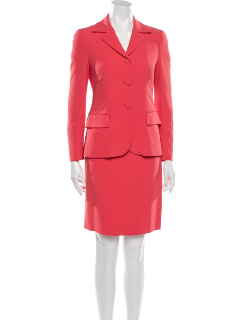 Moschino Skirt Suit Pink