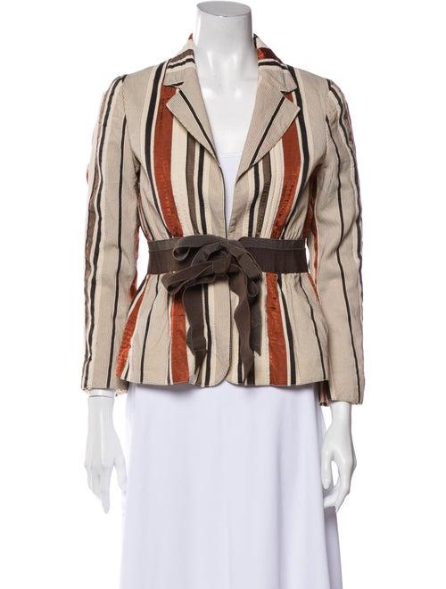 Moschino Striped Blazer