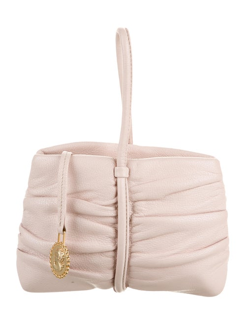 Moschino Mini Leather Handle Bag Pink