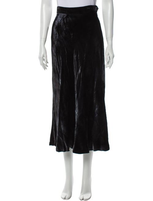 Moschino Midi Length Skirt Blue