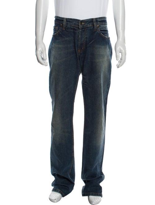 Moschino Straight-Leg Jeans Blue