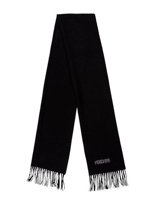 Moschino Merino Wool Scarf Wool