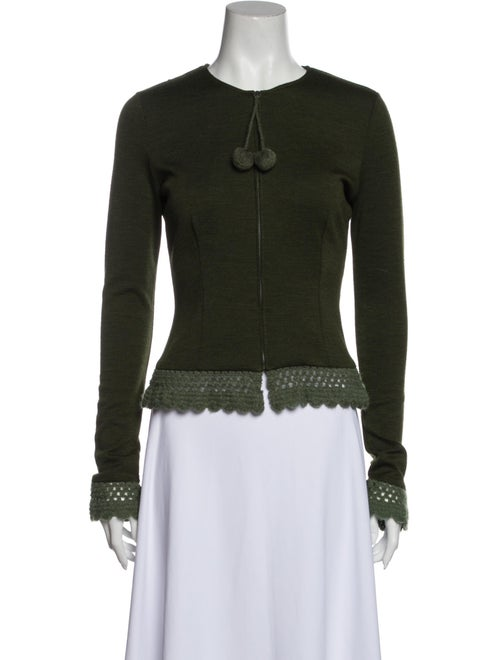 Moschino Evening Jacket Green