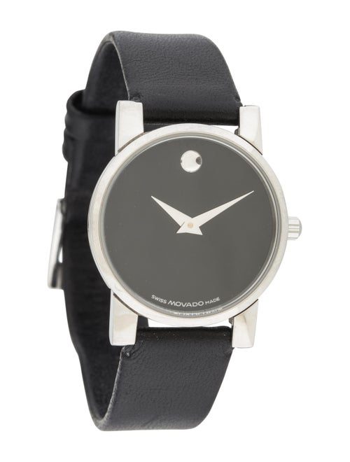0be6c0fd4 Movado Museum Classic Watch - Strap - MOV21160 | The RealReal