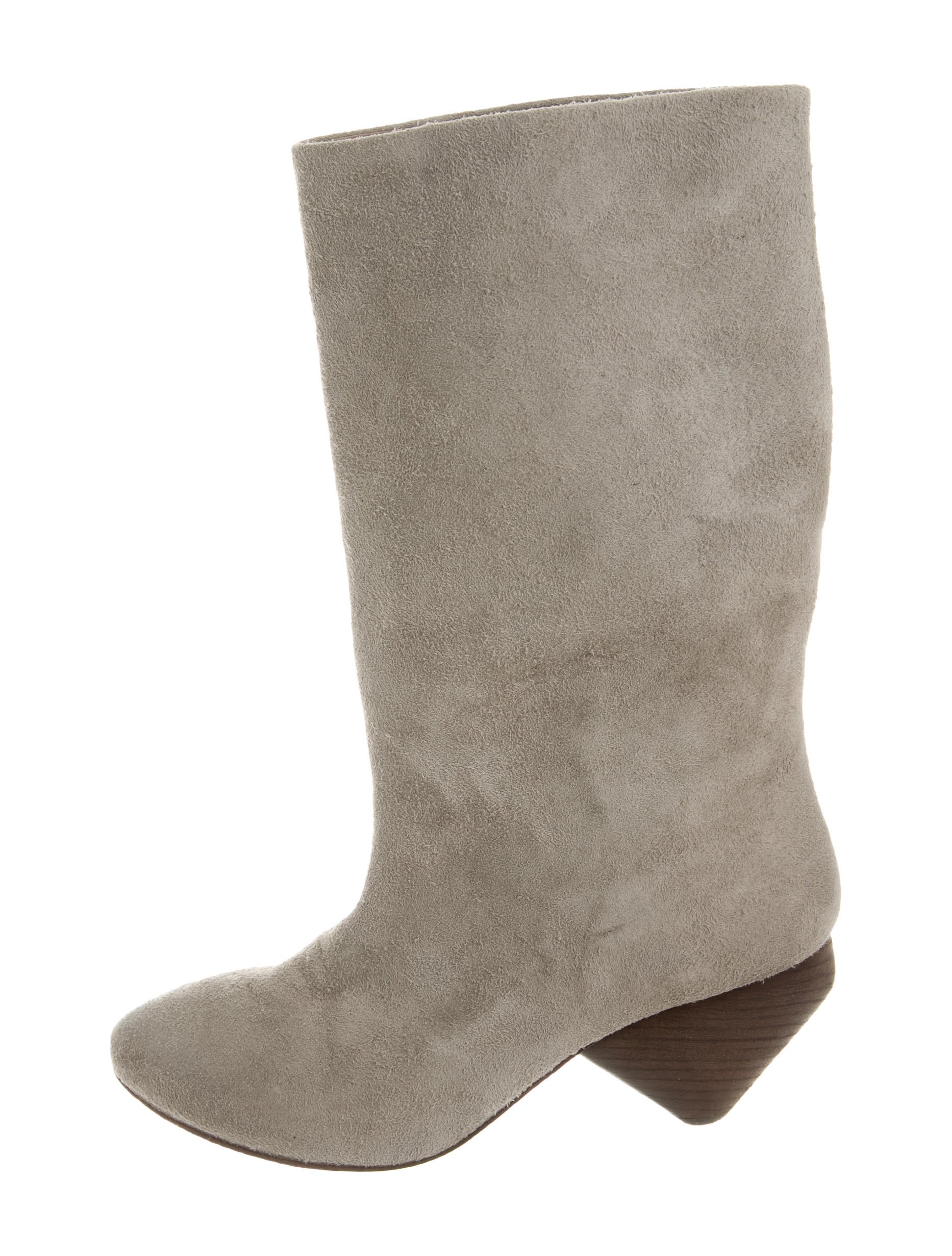 mars 232 ll suede mid calf boots shoes mrc20769 the realreal