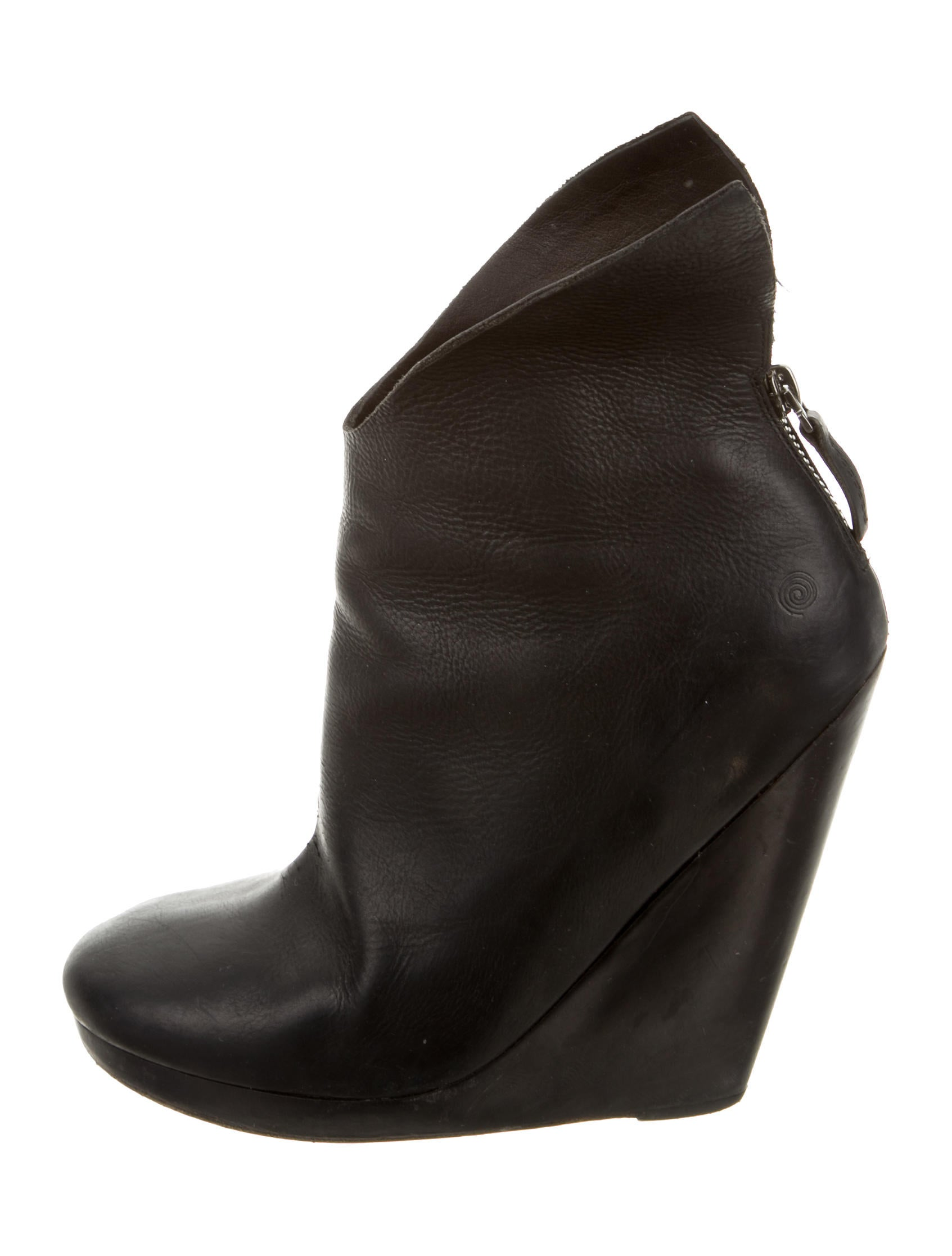 mars 232 ll leather wedge ankle boots shoes mrc20810 the