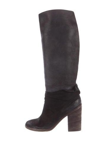 Marsèll Distressed Knee-High Boots