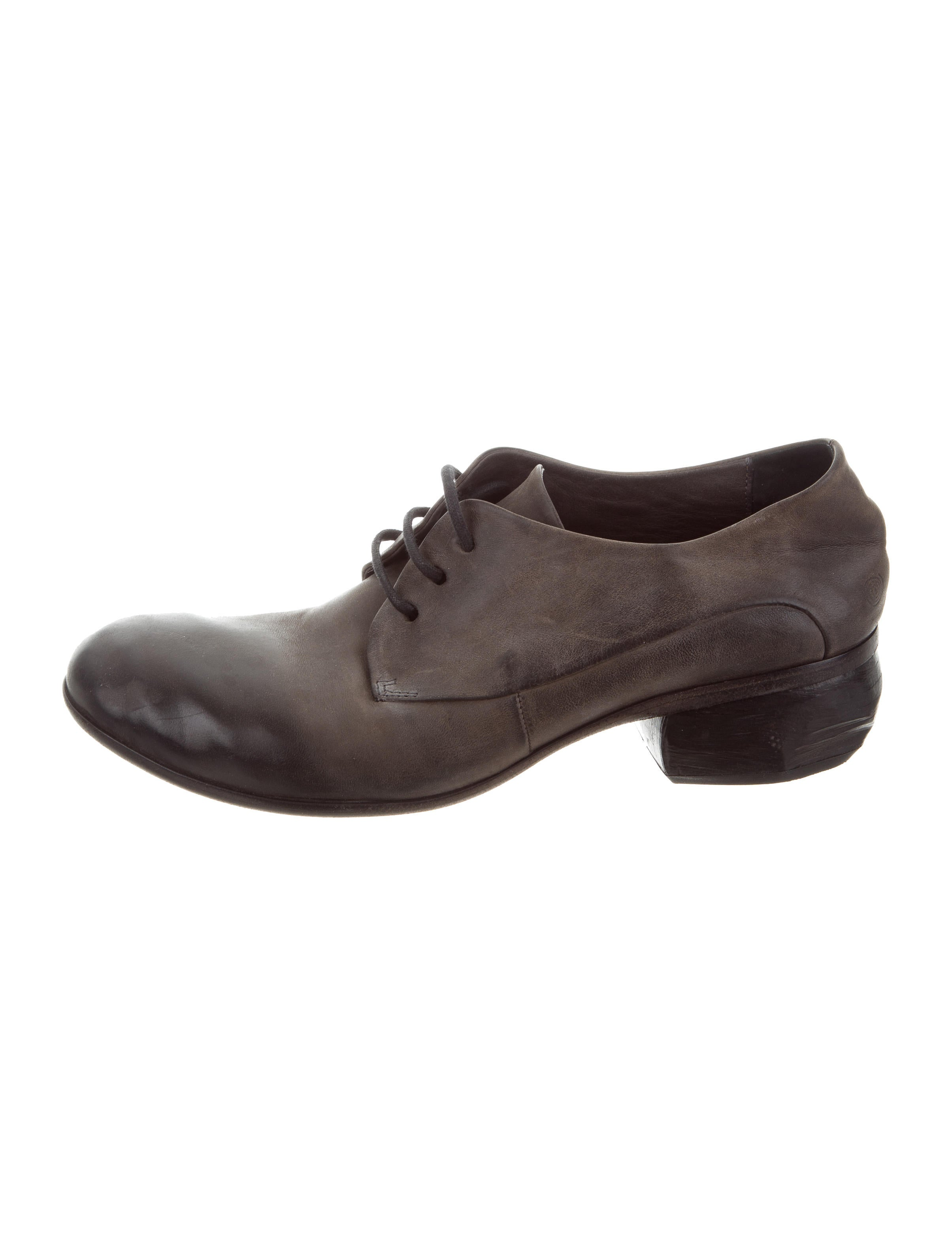 Marsèll Formica Leather Oxfords fake cheap price buy cheap low shipping NTEx131Om