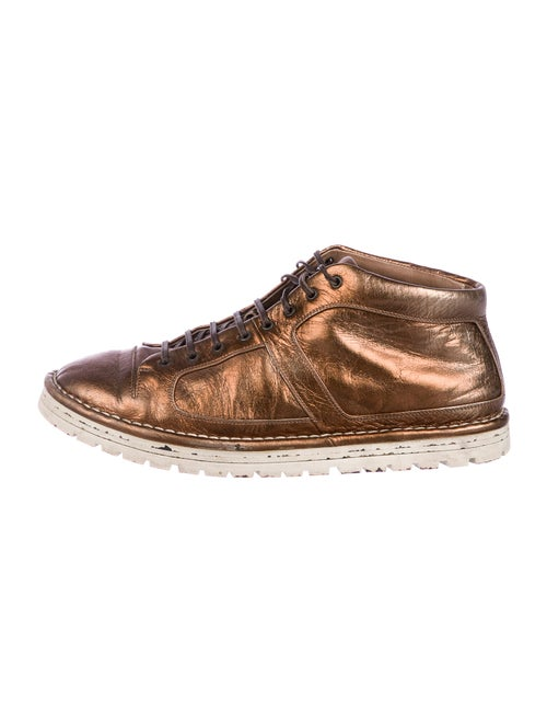 Marsèll Leather Sneakers Gold