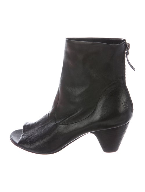 Marsèll Leather Boots Black