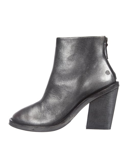 Marsèll Leather Boots Metallic