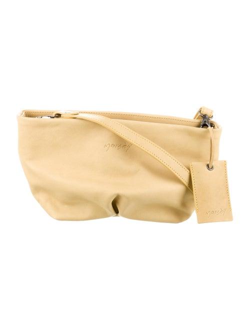 Marsèll Leather Crossbody Bag Silver