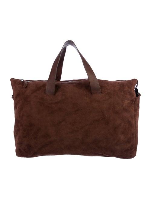 Marsèll Suede Weekender Bag Brown