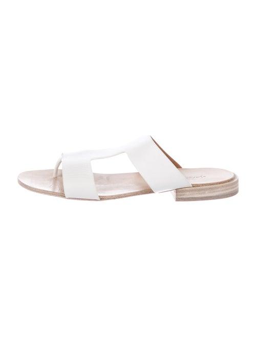 Marsèll Leather Slides White