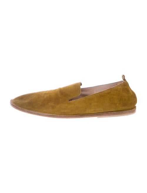 Marsèll Suede Moccasins Green