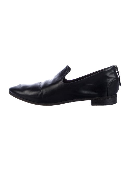 Marsèll Leather Loafers Black