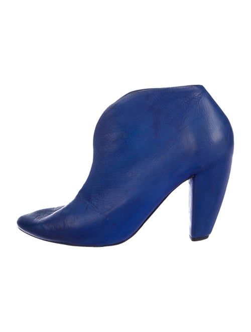 Marsèll Leather Boots Blue