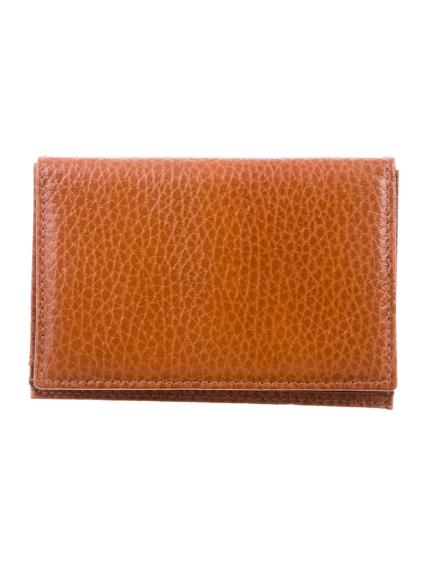 leather bifold card holder - Bifold Card Holder