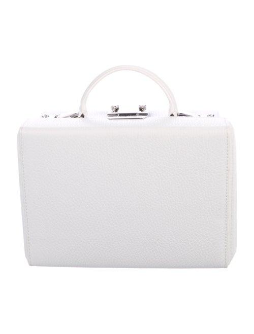Mark Cross Grace Box Bag White