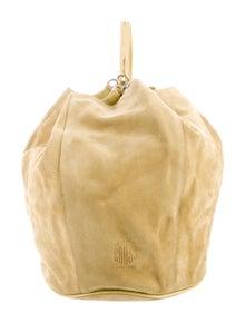 Mark Cross Suede Bucket Bag