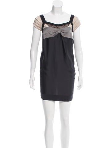 Antonio Marras Cap-Sleeve Mini Dress w/ Tags None
