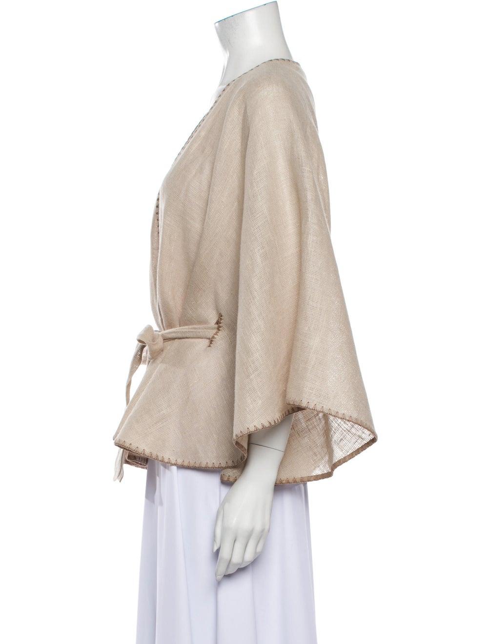 Mask Linen Jacket - image 2