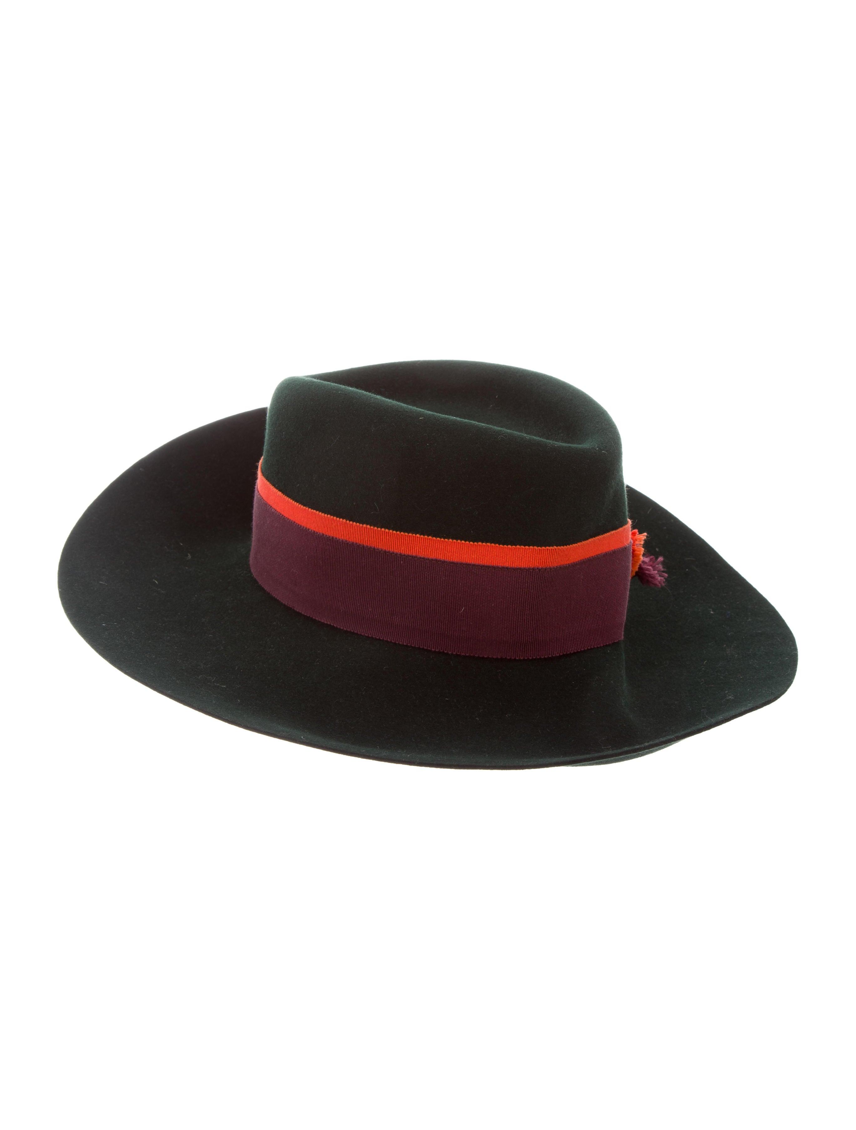 4c2e6b7cf49 Maison Michel Wide-Brim Felt Hat - Accessories - MSM20337