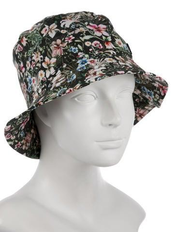 Maison Michel Jason Floral Bucket Hat w  Tags - Accessories ... c65f80f735d1