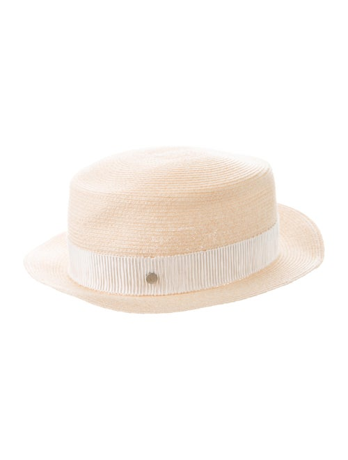 Maison Michel Straw Wide Brim Hat Tan - image 1