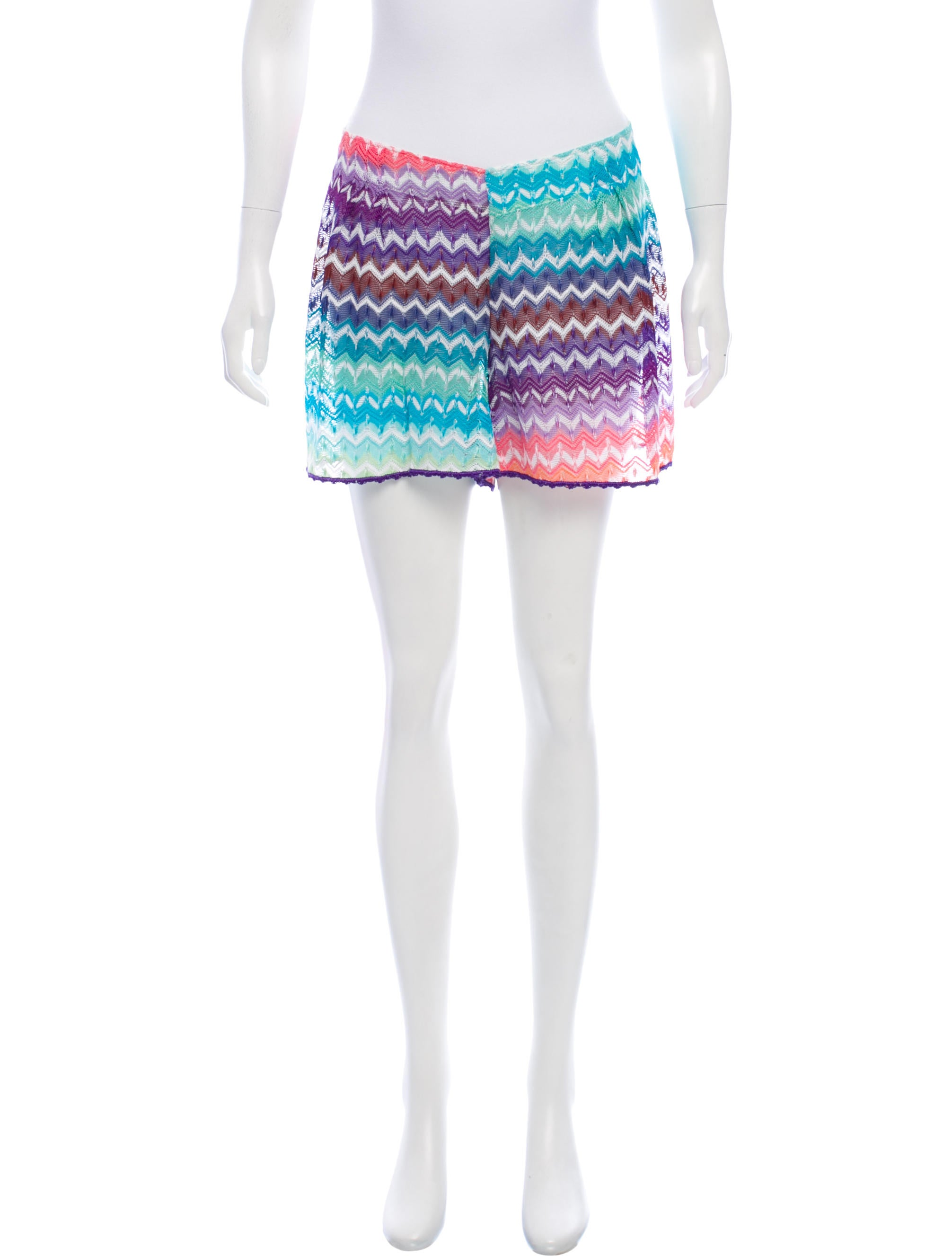 2ba8ec00f7 Missoni Mare Chevron Swim Cover-Up - Clothing - MSSMR20076
