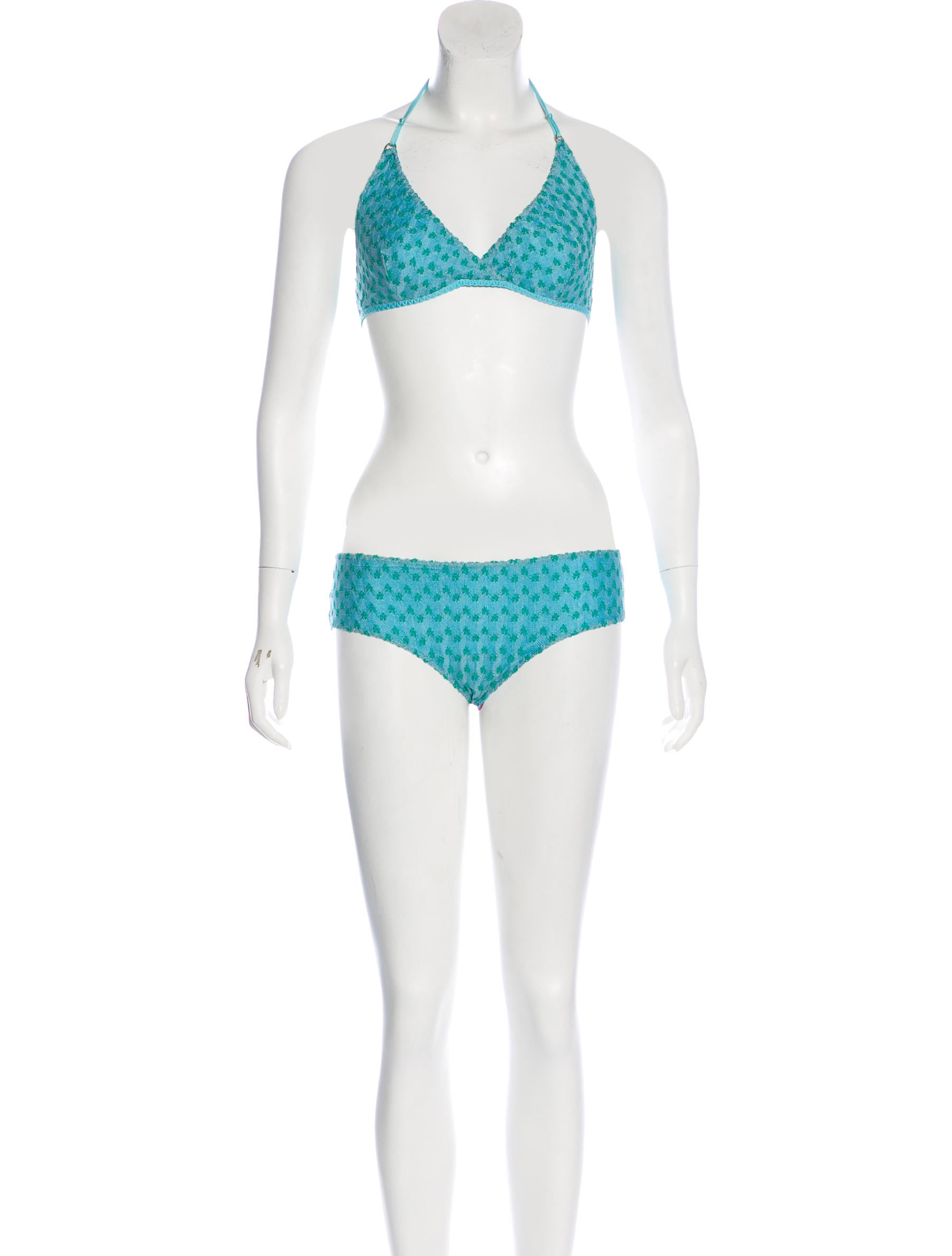 5a63304e4c Missoni Mare Pointelle Two-Piece Swimsuit w/ Tags - Clothing ...