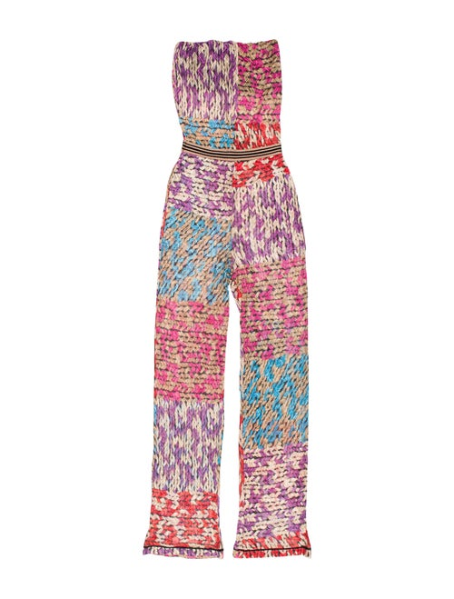 Strapless Flared Jumpsuit