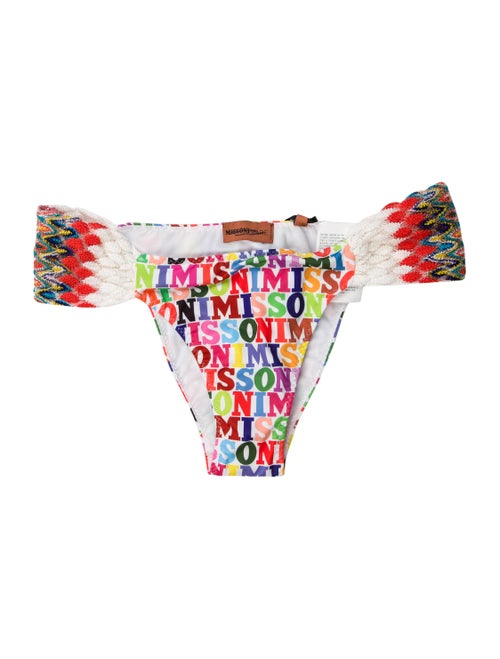 Missoni Mare Printed Bottoms Red