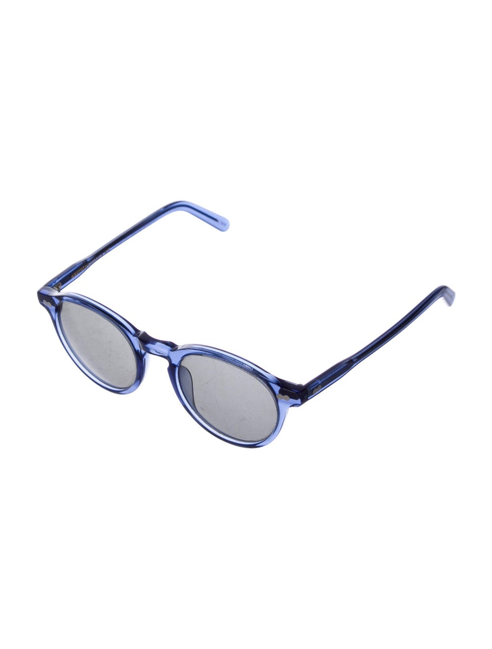Moscot Round Tinted Sunglasses Blue - image 2