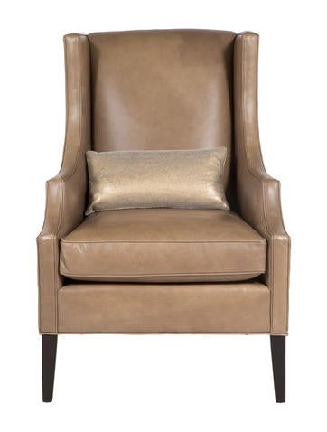 ... Mitchell Gold + Bob Williams James Vegan Leather Wing Chair