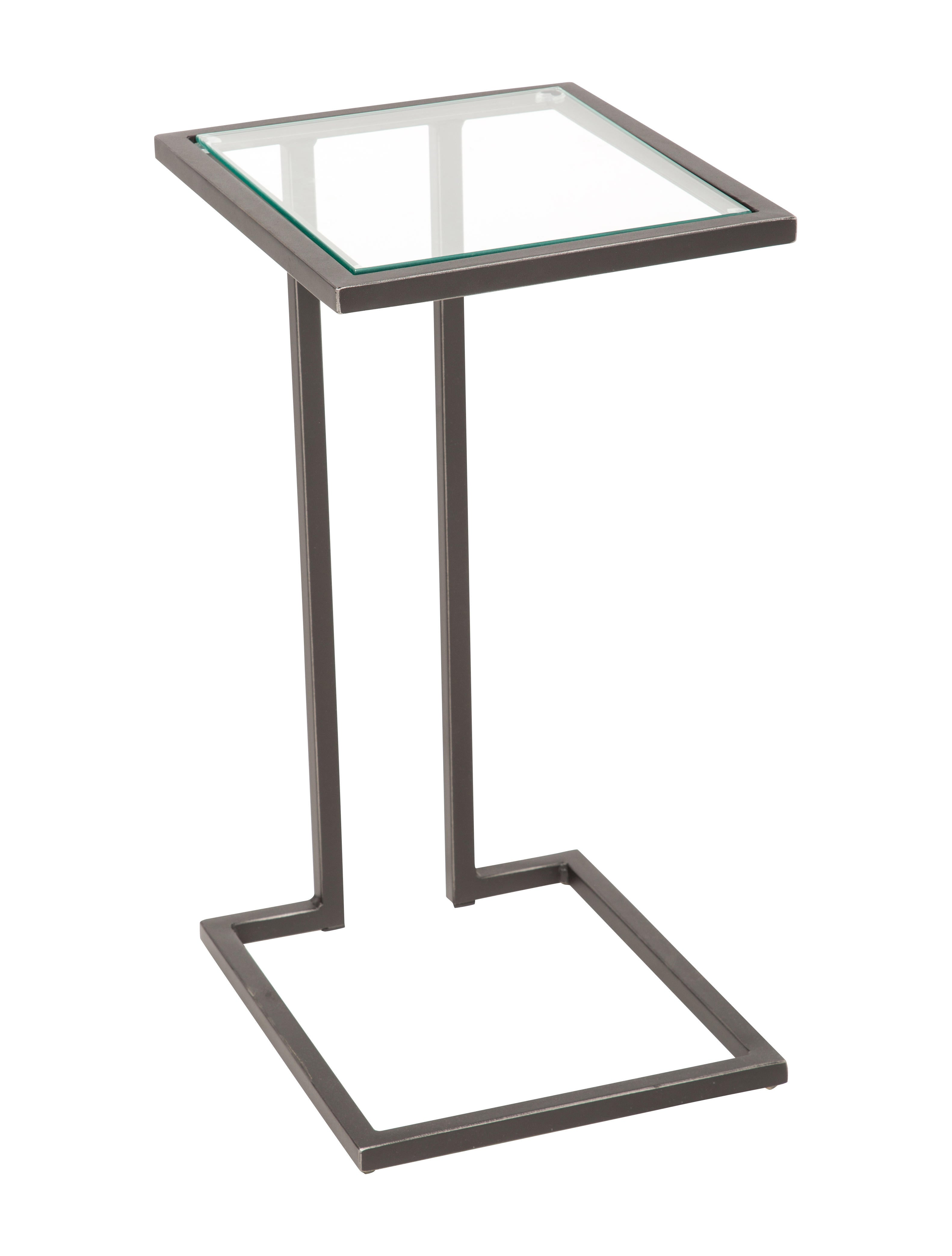 Beau Mitchell Gold + Bob Williams Vienna Pull Up Side Table