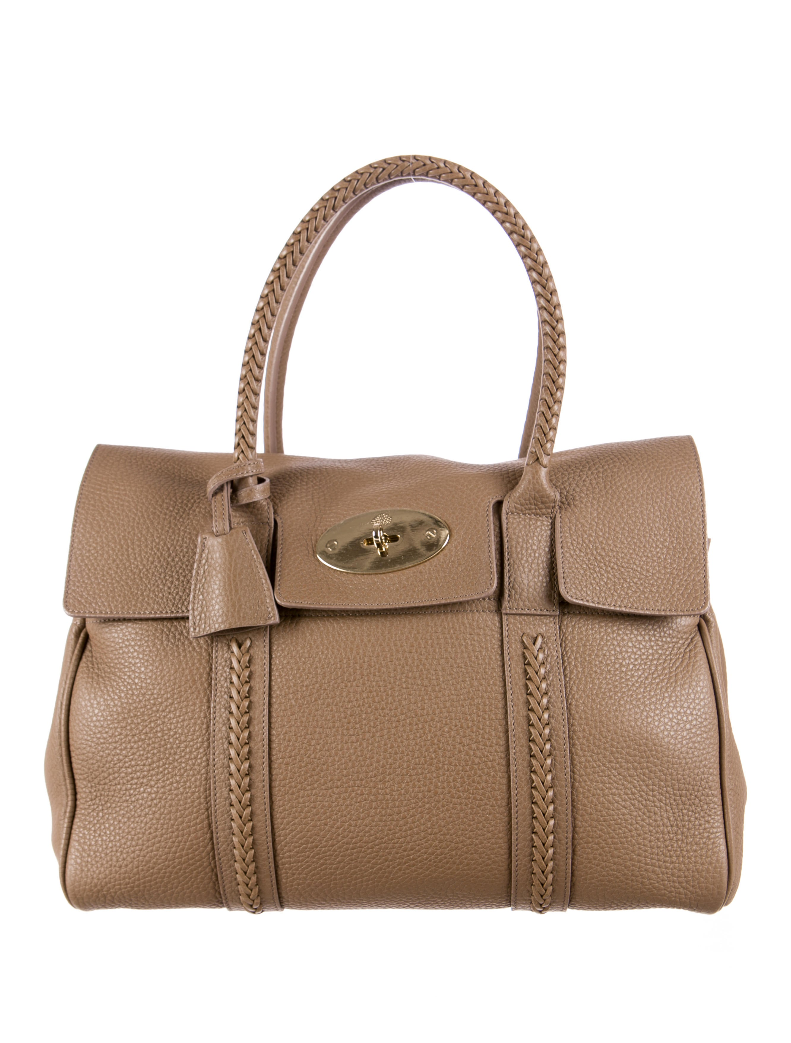 Mulberry bayswater bag handbags mul21028 the realreal for The bayswater