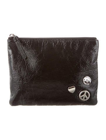 Embellished Zip Pouch
