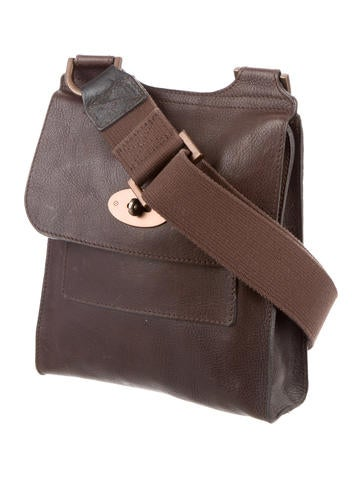 Leather Anthony Messenger Bag