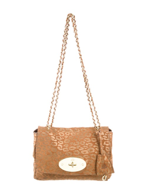 5ea6d28372c7 Mulberry Suede Leopard Lily Bag - Handbags - MUL21466 | The RealReal