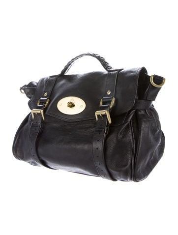 Leather Alexa Satchel