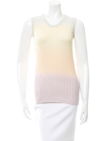 Mulberry Ombré Knit Top None