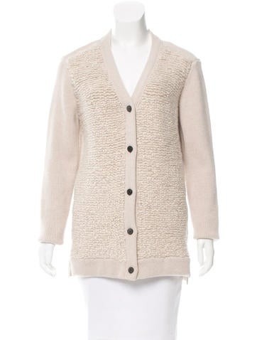 Mulberry Wool & Cashmere Cardigan