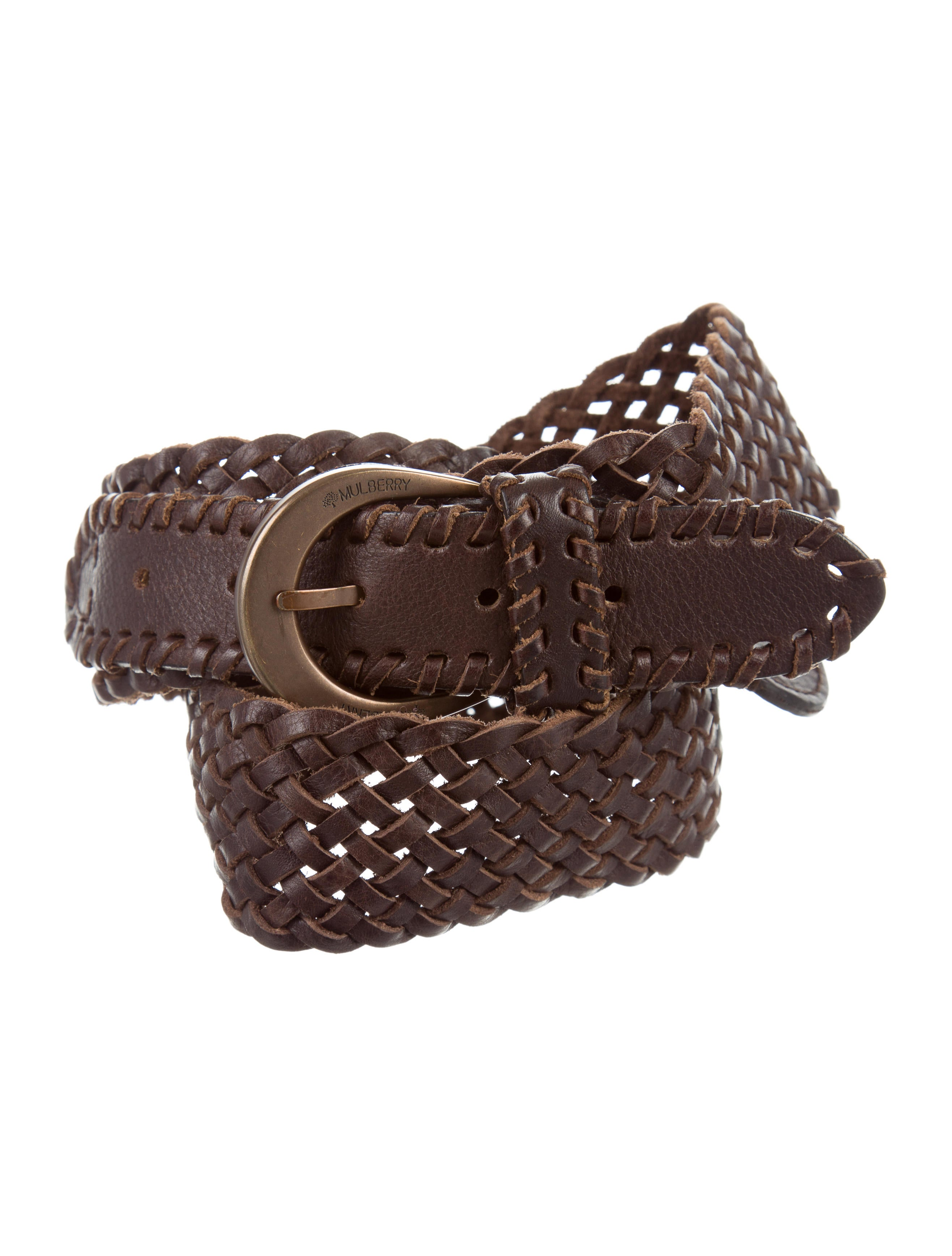 mulberry woven leather belt accessories mul22327 the